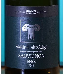 CANTINA BOLZANO Südtirol Alto Adige Sauvignon Blanc Mock 2015