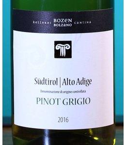 CANTINA BOLZANO Südtirol Alto Adige Pinot Grigio 2016