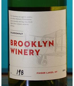 Brooklyn Winery, Finger Lakes Un-Oaked Chardonnay 2014