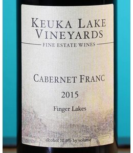 Keuka Lake Vineyards, Finger Lakes Cabernet Franc 2015