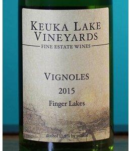 Keuka Lake Vineyards, Vignoles 2015