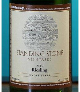 Standing Stone Vineyards, Riesling 2015