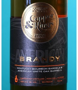 Copper & Kings, American Craft Brandy 2015