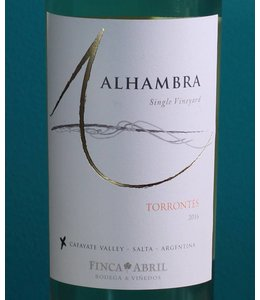 Alhambra, Cafayate Torrontés Single Vineyard 2016