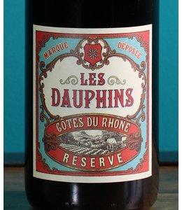 Les Dauphins, Côtes du Rhône Réserve 2015