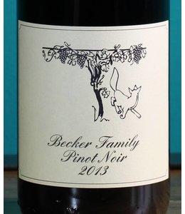 Becker Estate, Pinot Noir Estate Dry 2013