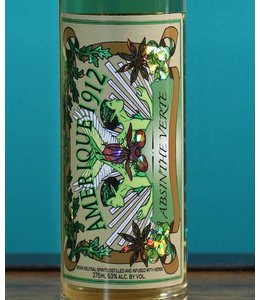 Great Lakes Distillery, Amerique 1912 Absinthe Verte NV