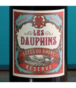 Les Dauphins, Côtes du Rhône Réserve 2015 (375 ml)