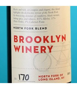Brooklyn Winery, North Fork of Long Island Blend 2014