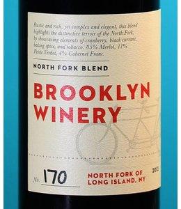 Brooklyn Winery, North Fork of Long Island Blend 2013 (375ml)