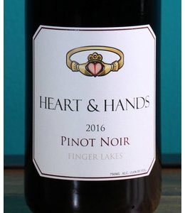 Heart & Hands, Finger Lakes Pinot Noir 2015