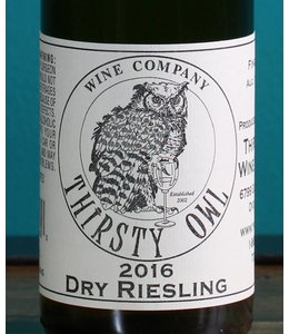 Thirsty Owl Wine Company, Finger Lakes Dry Riesling (375)