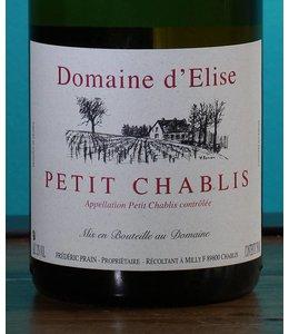 Domaine d'Elise, Petit Chablis 2015