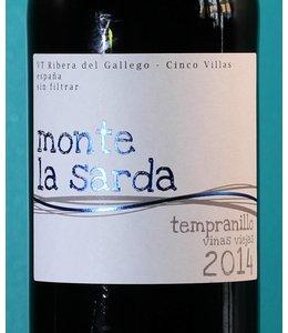 Monte la Sarda, Vino de la Tierra de Bajo Aragón Tempranillo Viñas Viejas 2014