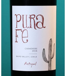 Antiyal, Maipo Valley Carménère Pura Fe 2016