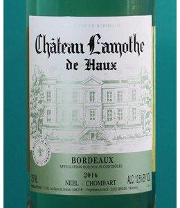 Château Lamothe, Bordeaux Blanc 2017 375ml