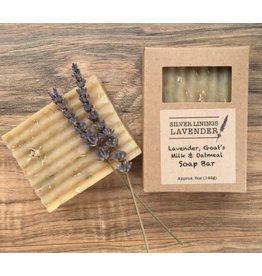Lavender Soap Bar w/ Goat's Milk & Oatmeal