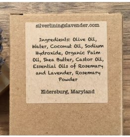Lavender Rosemary Soap Bar