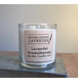 Lavender Peach Candle