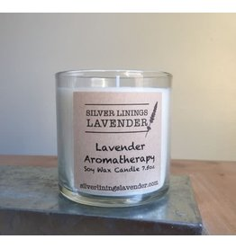 Silver Linings Lavender Lavender Merlot Candle