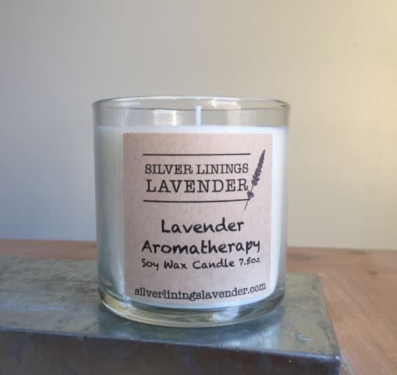 Lavender Merlot Candle