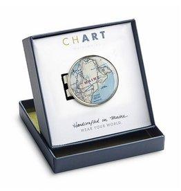 CHART Metalworks ChART Metalworks Cartographer Money Clip