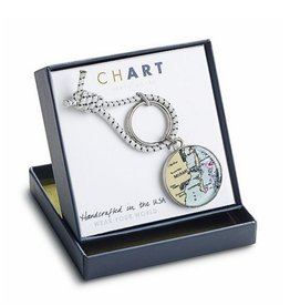 CHART Metalworks ChART Metalworks Peltro Regatta Key Ring