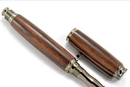 Executive Rollerball Pen, Ebony Wood
