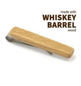 Tie Clip, Whiskey Barrel