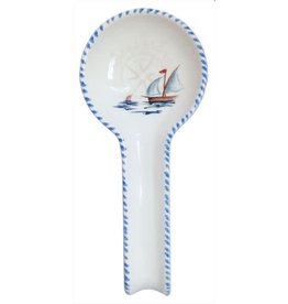 Abbiamo Tutto Sailboat Spoon Rest