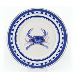 Golden Rabbit Blue Crab Sandwich Plate