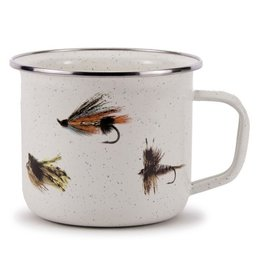 Golden Rabbit Fishing Fly Soup Mug
