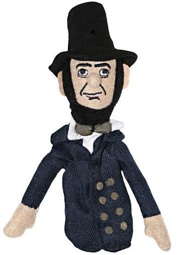 Unemployed Philosophers Guild Magnetic Personalities Fingr Puppet - Abraham Lincoln
