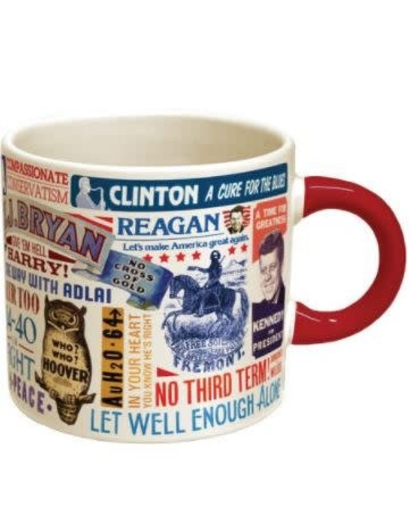 Presidential Campaign Slogans Mug