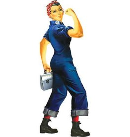 Unemployed Philosophers Guild Quotable Notables Stationery - Rosie the Riveter