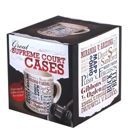 Unemployed Philosophers Guild Supreme Court Mug