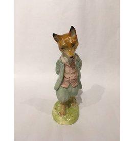 Beatrix Potter Porcelain Fox Figurine