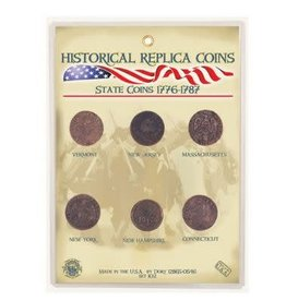 Replica Coin Set - State Coins 1776-1787