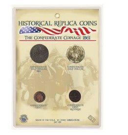 Replica Coin Set - Confederate Coinage 1861