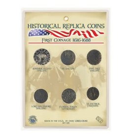 Replica Coin Set - First Coinage 1616-1688