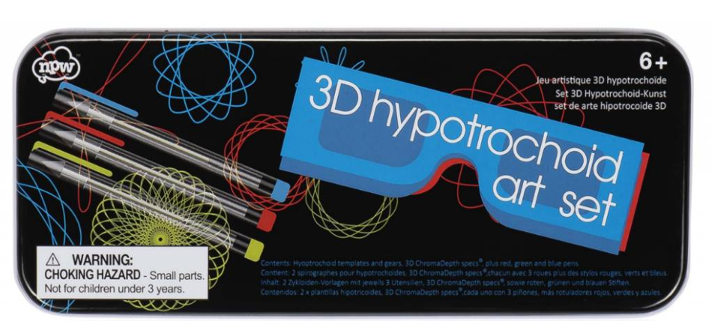 3D Hypotrochoid Art Set