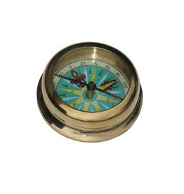 Madison Bay Company Brass Compass Paperweight
