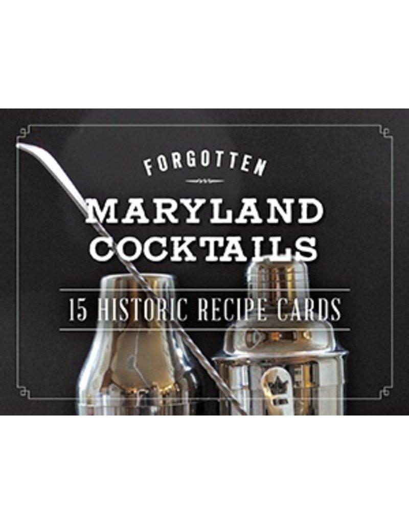Arcadia Publishing Forgotten Maryland Cocktails: 15 Historic Recipe Cards