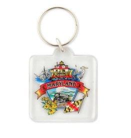 Key Ring - Maryland Montage