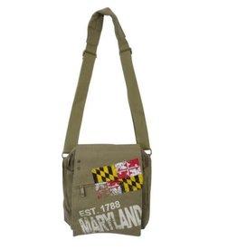 Robin Ruth Bag - Maryland Flag Messenger Bag