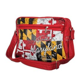 Robin Ruth Bag - Maryland Flag Retro Bowling Bag