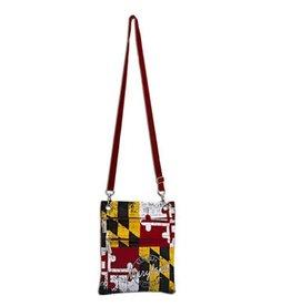 Robin Ruth Bag - Maryland Flag Travel Purse