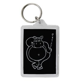 Key Chain - Club Hippo