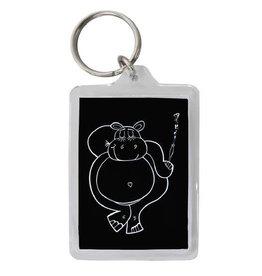 Keychain - Club Hippo