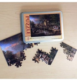 "Puzzle - ""Exhumation of the Mastodon"" 100 pcs"